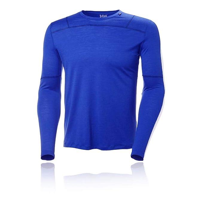 Helly Hansen HH Merino Light Camiseta Primera Gorra A Top: Amazon ...