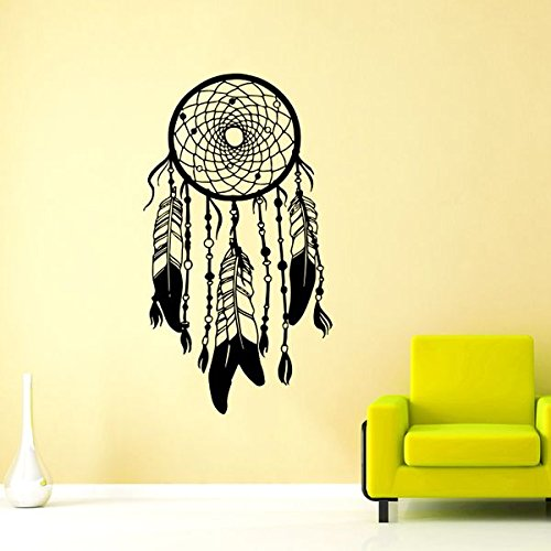 Dream Catcher Wall Decal Vinyl Sticker Decals Feather Boh...