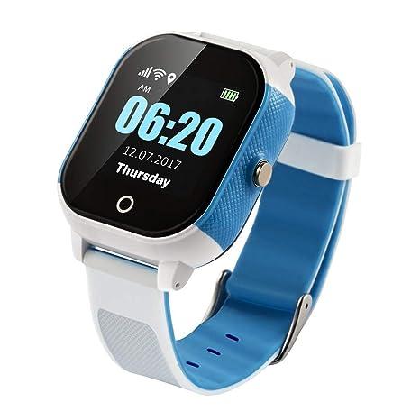 IP67 resistente al agua WIFI reloj inteligente para niños IPS de alta definición pantalla grande GPS
