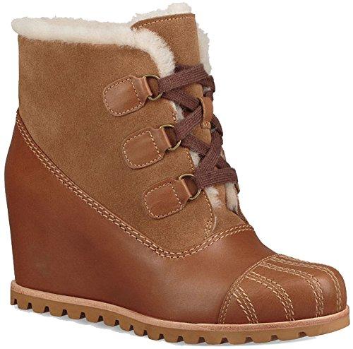 UGG Womens Alasdair Rain Boot Chestnut Size 6.5