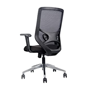 Sit Right Soulmate White High Back with Adjustable Arm Office Chair