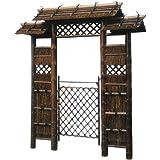 Oriental Furniture 7ft. Japanese Style Zen Garden Gate