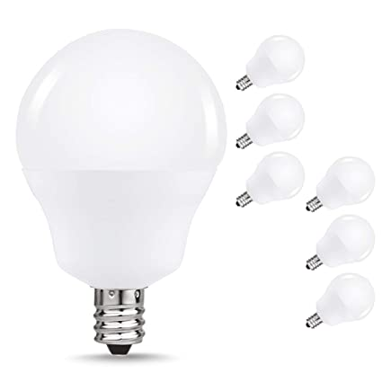 Delicieux LED Soft White 3000K Ceiling Fan Light Bulbs, JandCase 40W Equivalent  Candelabra Bulbs, 5W