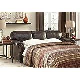 Signature Design by Ashley 8220239 Bristan Sofa Sleeper, Queen, Walnut