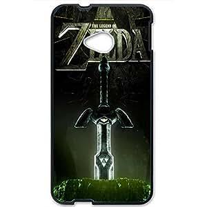 The Legend of Zelda Phone Case Design Skyward Sword Pattern 3D Hard Plastic Case Cover For Htc One M7 Legend of Zelda Series