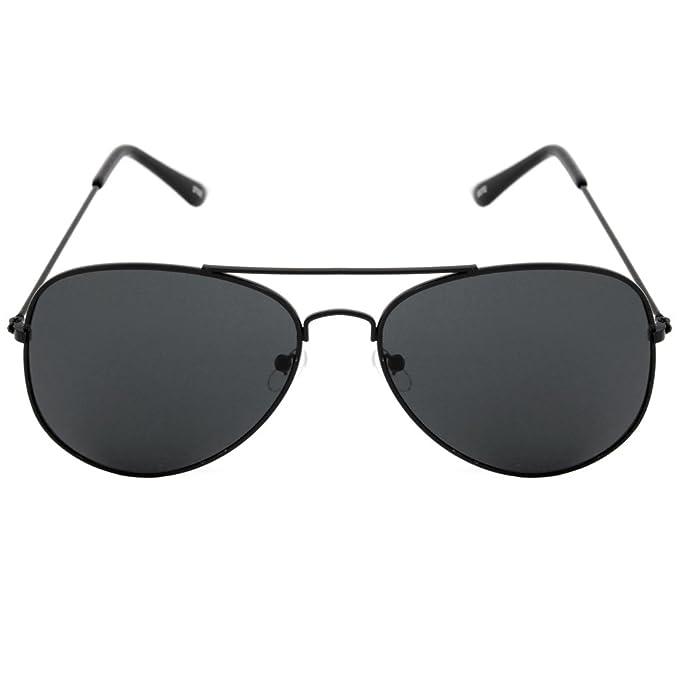 b57dd783ad Lentes de sol Aviador Gota Negro Para Hombre o Mujer: Amazon.com.mx ...