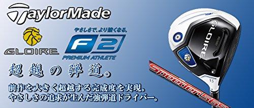 TAYLOR MADE(テーラーメイド) グローレ F2 ドライバー Speeder 569 EVOLUTION Ⅲ カーボンシャフト (ロフト角(10 5度) FLEX-R)