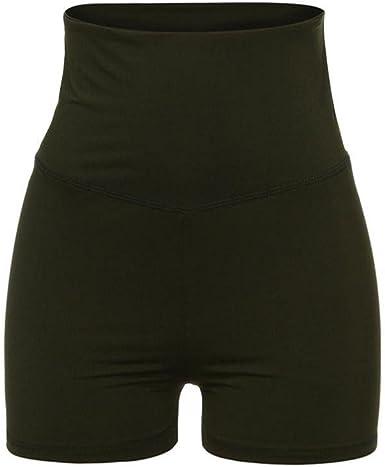 VENMO Pantalones Mujer, Pantalones Cortos Mujer, Deportivas Mujer, Ropa de Mujer, Pantalones de Yoga de Cintura Alta para Mujeres, Pantalones Cortos Deporte de Mujer para Gimnasio Corriendo (Verde, M): Amazon.es: Ropa y