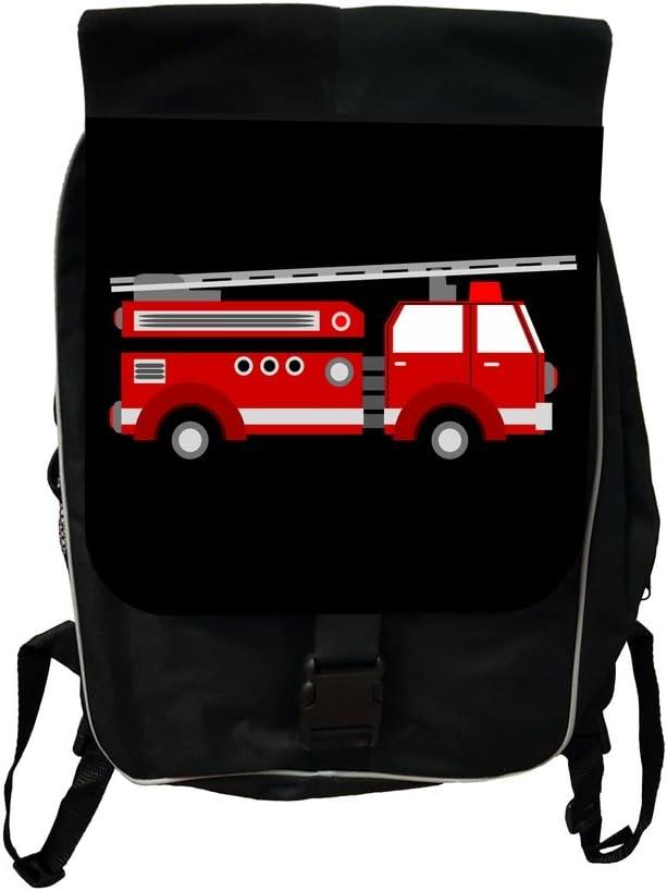 Red Firetruck Lea Elliot TM School Backpack and Pencil Case SET
