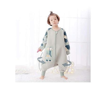 CWLLWC Saco de Dormir para bebé,Primavera otoño e Invierno de algodón Fino bebé niños