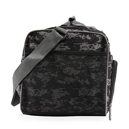 51igQTos9JL - Fila Source Sm Travel Gym Sport Duffel Bag, Black Digi Camo