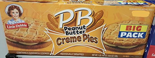 Little Debbie Big Packs 2 Boxes of Snack Cakes & Pastries (PB Peanut Butter Creme Pies)