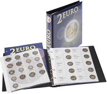 Lindner 1118M Album pre-impreso para monedas de 2 Euros conmemorativas: todos países del Euro (cronológico de España 2012): Amazon.es: Juguetes y juegos