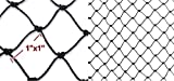 "New Anti Bird Netting Net Netting Aviary Game Poultry Bird 1""x1"" Mesh-all size (50x25)"