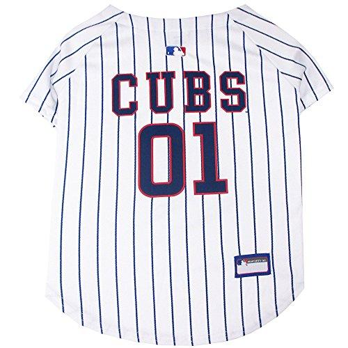 Pets First MLB Chicago Cubs Dog Jersey, Medium