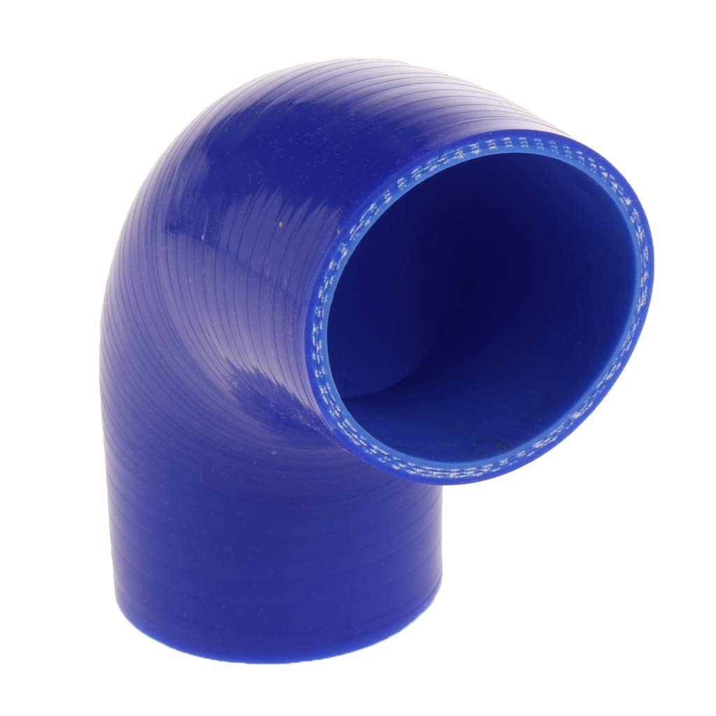 - Blue Flameer 4-Ply High Performance 90 Degree Elbow Coupler Silicone Hose for Auto Car 63mm 2.5inch