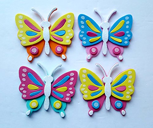 Foam Butterfly Craft Kit- Makes (Butterfly Craft)