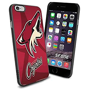 Arizona Coyotes NHL, #1374 Hockey iPhone 6 (4.7) Case Protection Scratch Proof Soft Case Cover Protector