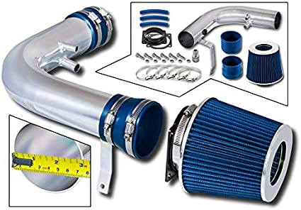Expedition Filter Combo BLACK Compatible For 97-03 Ford F-150 97-99 Ford F-250//98-99 Lincoln Navigator V8 Rtunes Racing Short Ram Air Intake Kit