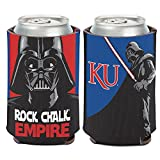 WinCraft Kansas Jayhawks Official NCAA 4 inch Star Wars Darth Vader Insulated Coozie Can Cooler by 157195