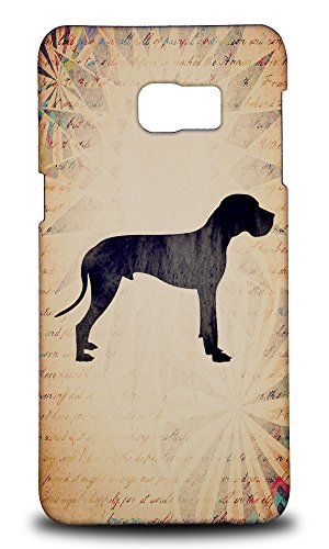 Foxercases Design Great Dane Dog Vintage Watercolor Art Hard Back Case Cover for Samsung Galaxy Note 5 Edge Dane Vintage Colors