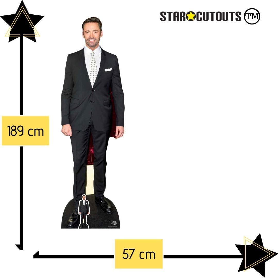 Star Cutouts CS781 Hugh Jackman - Corbata de cartón (tamaño real ...