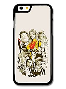 Quentin Tarantino Movie Collage Illustration Black and White Yellow Kill Bill case for iPhone 6 A10874