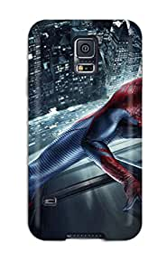 New Premium Flip Case Cover The Amazing Spider-man 105 Skin Case For Galaxy S5