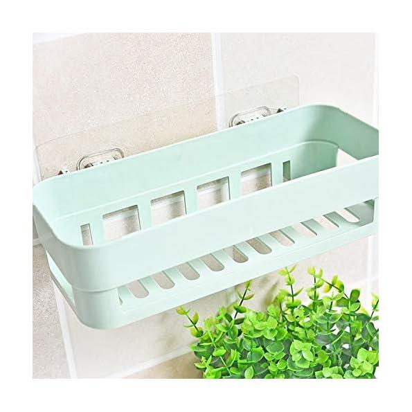 HOME-CUBE-1Pc-Multipurpose-Kitchen-Bathroom-Shelf-Wall-Holder-Storage-Rack-Bathroom-Rack-Storage-Box-Strong-Magic-Sticker-Shower-Rack-Shelf-Random-Color-1
