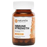 Naturelle Immune Strength | Doctor-Approved Rapid Immune Boost | Vegan Immune Support...