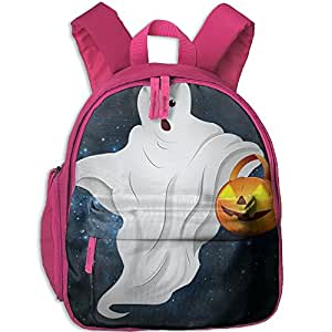 Happy Halloween Hot Sale Child Shoulder School Bag School Backpack School Daypack For Teens Boys Girls Students Pink