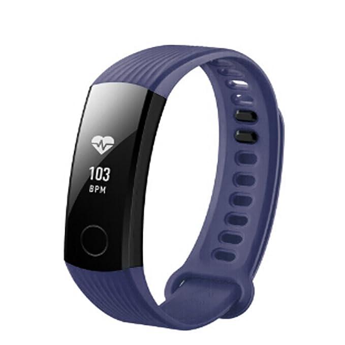 Huawei Honor 3 Deportes Silicona Pulsera Correa Banda para Huawei Honor 3 Smart Watch,Correa Elegante del Silicón De La Pulsera
