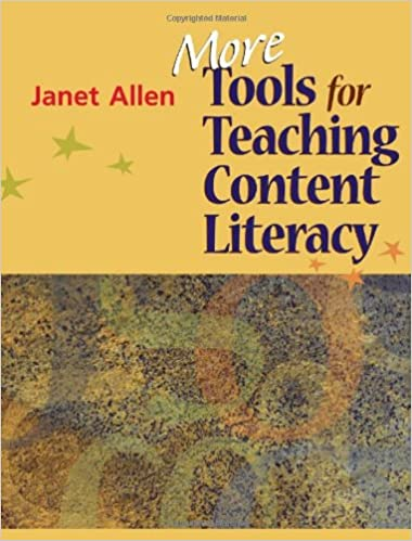 More Tools For Teaching Content Literacy Allen Janet 9781571107718 Amazon Com Books