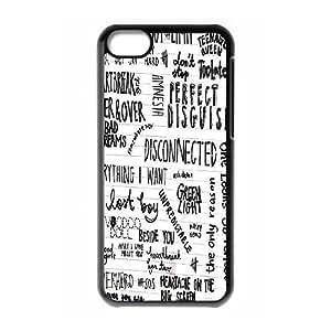 DIY 5 Summer Plastic Case for iPhone 5c, Custom 5 Summer Iphone 5C Shell Case, Personalized 5 Summer iPhone 5c Cover Case