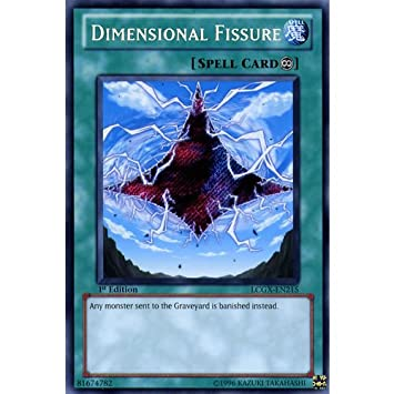 Secret Rare Dimensional Fissure Unlimited Edition LCGX-EN215