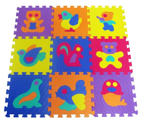 ProSource Animals Interlocking Puzzle Tiles