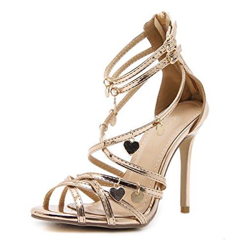 le Estate scarpe 39 ultra champagne Romana Primavera come sandali color e ZHZNVX 510wqc
