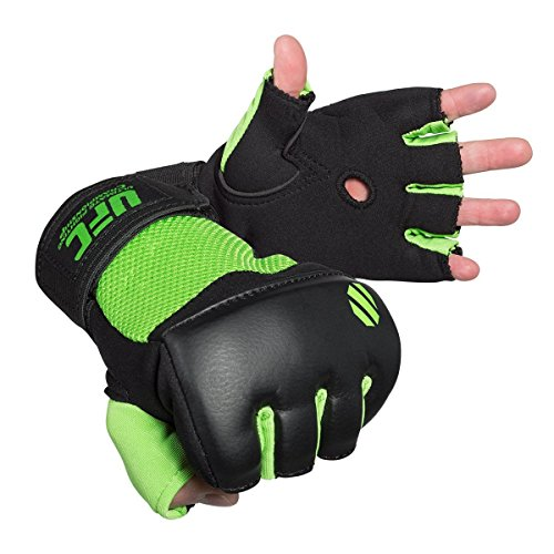 UFC Gel Gloves - Green/Black