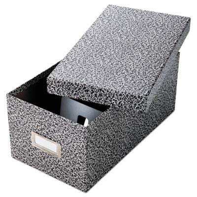 OXF40589 - Oxford Plastic Index Card Boxes w/Lids by Oxford