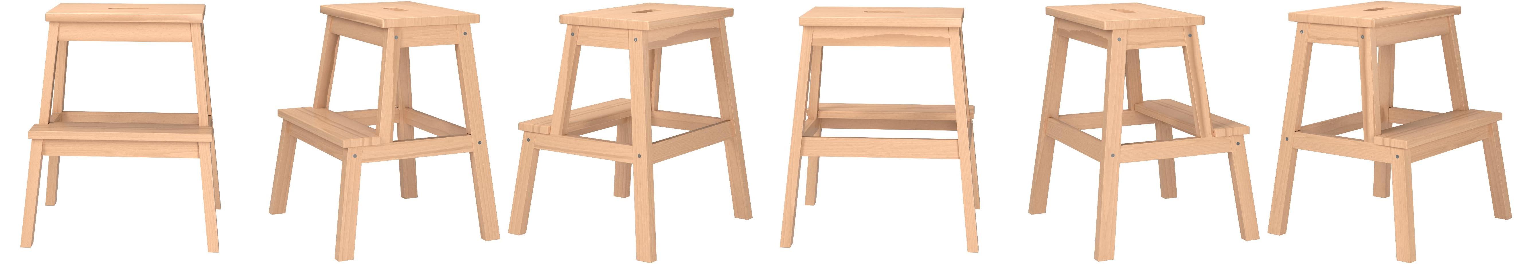Amazon Com Ikea Bekvam Wooden Utility Step By Ikea Beige Industrial Scientific