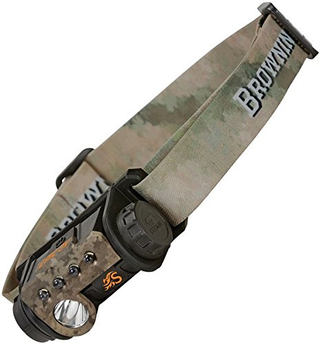 Browning Hell's Canyon Speed Epic 3V Headlamp, ATACS Arid/Urban (Browning Plates)