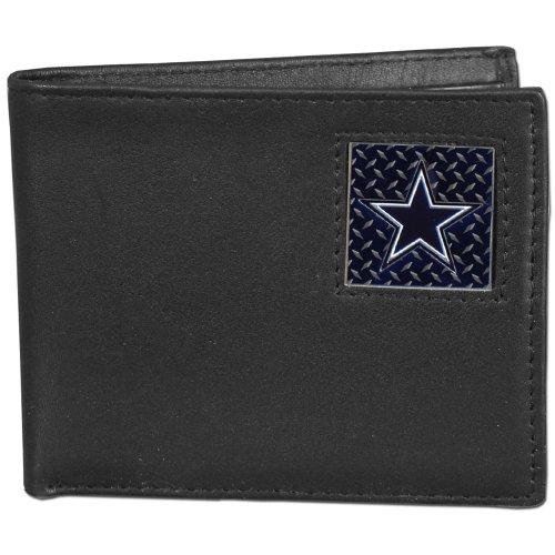 NFL Dallas Cowboys Leather Gridiron Bi-Fold Wallet