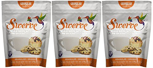 Price comparison product image Swerve Granular Sweetener (12 oz,  Pack of 3): The Ultimate Sugar Replacement