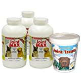 3-PACK Joint MAX TRIPLE Strength (360 Chewable Tablets) + FREE JOINT TREATS!, My Pet Supplies