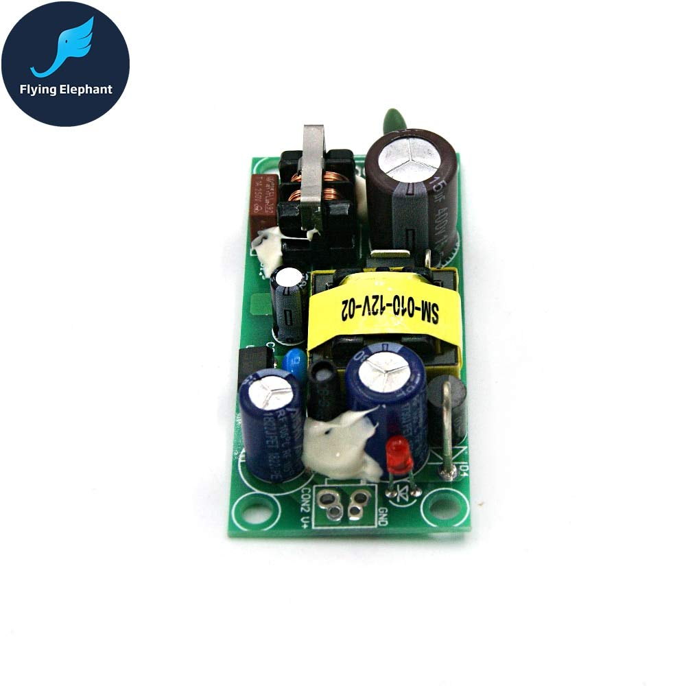 Utini 12V 1A Switching Power Supply Module AC220v for 12v DC Isolation Switch Power Supply Board 12W