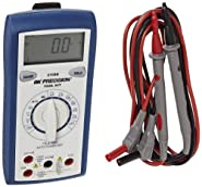 BK Precision 2708B Auto-Ranging, True RMS Digital Multimeter, 10 Amp, 750VAC, 1000 VDC, 34 Megaohms