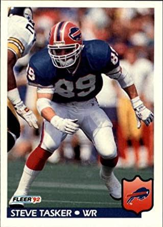 Amazon.com  1992 Fleer Football Card  32 Steve Tasker Mint  Collectibles    Fine Art f0ee8a3e6
