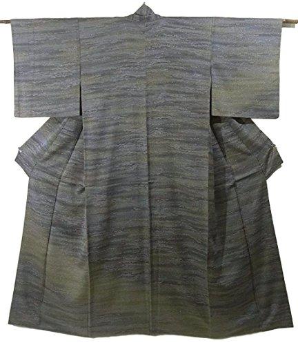 飼い慣らすペースト急流リサイクル 着物 訪問着  まだら文様 ぼかし染め 正絹 袷 裄64.5cm 身丈160cm