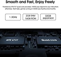 OUKITEL K4000 Plus - 4G Smartphone Libre 4100mAh Batería, 5,0 ...