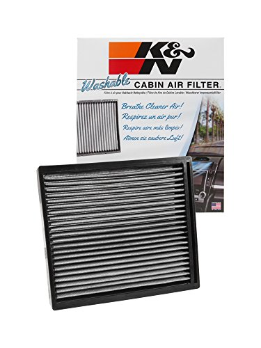 K&N VF2010 Washable & Reusable Cabin Air Filter Cleans and Freshens Incoming Air for your Hyundai, Kia